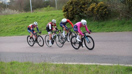 Sam Hodges in action for Verulam Reallymoving at West Dryton. Picture: MICK HODGES