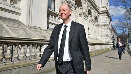 Chief Medical Officer for England Chris Whitty in Whitehall ahead of a meeting of the Government's e