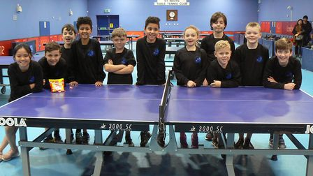 Cromwell Academy took part in a Primary School Table Tennis Festival. Picture: SUBMITTED