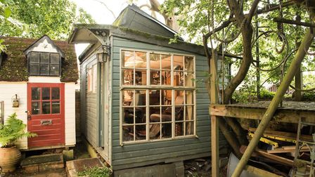 Philip Pullman's old writing shed also made the shortlist in the 2017 Shed of the Year competition.