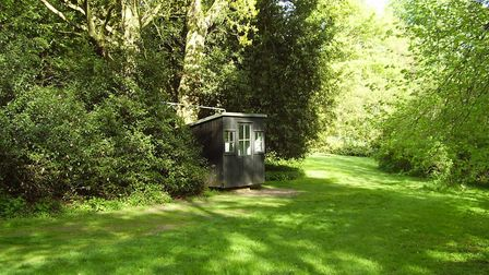 George Bernard Shaw's former shed is set in gorgeous grounds. Picture: Aex Johnson
