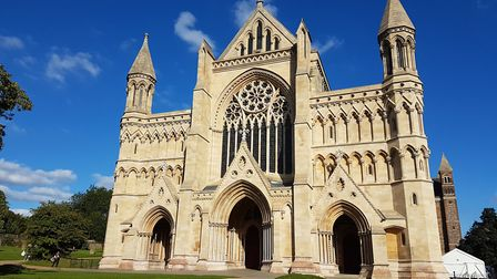 St Albans Cathedral was one of the city's tourist attractions taking part in this year's Herts Big W