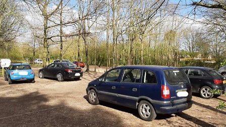 Dog walkers asked not to drive to country park to walk dogs
