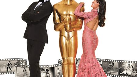 Aljaz and Janette - Remembering The Oscars tour has been rearranged for 2021. Picture: Colin Thomas