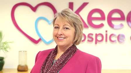 Keech Hospice Care CEO Liz Searle said coronavirus could cost the charity hundreds of thousands of p