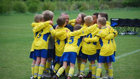 One of the many St Albans City Youth teams.
