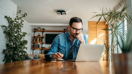 Everybody's doing it: Working from home has never been more popular. Picture: iStock/PA