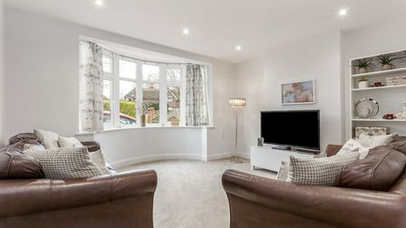 There is a separate sitting room to the front of the property. Picture: Hamptons