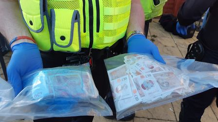 Money was found at the house in St Neots