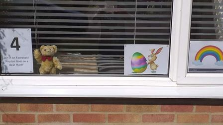 Tina Pinner's bear 4 in Royston. Picture: Tina Pinner