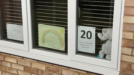 Sophie Wilson's bear number 20 in Royston. Picture: Sophie Wilson