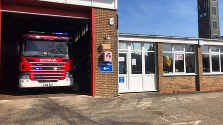 Royston Fire Station - bear 999. Picture: Royston Fire Station
