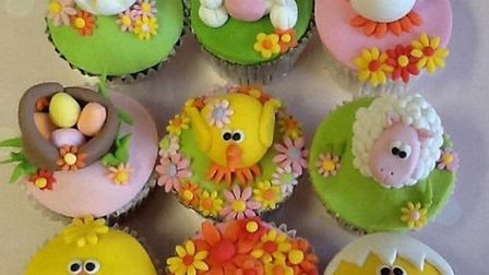 Maria's Cupcakes' Easter offering.