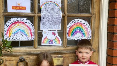 St Albans residents are being asked to decorate their front door to cheer up postal staff. Arthur (s