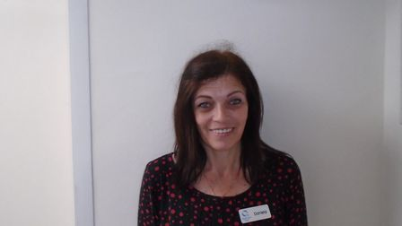 Dana, who works at Richard Cox House care home in Royston. Picture: Davina O'Flanagan