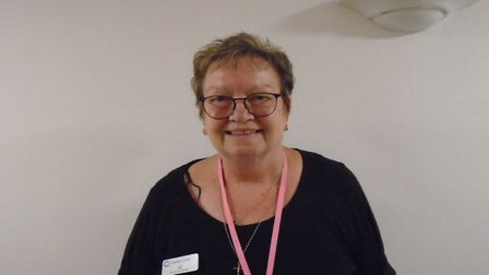 Jill, who works at Richard Cox House care home in Royston. Picture: Davina O'Flanagan