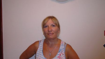 Nadia, who works at Richard Cox House care home in Royston. Picture: Davina O'Flanagan