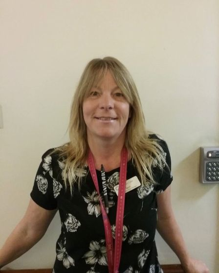 Terri, who works at Richard Cox House care home in Royston. Picture: Davina O'Flanagan