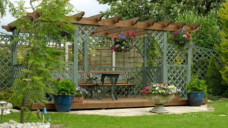 Searches for 'how to build a pergola' have gone through the roof during lockdown. Picture: Getty Ima