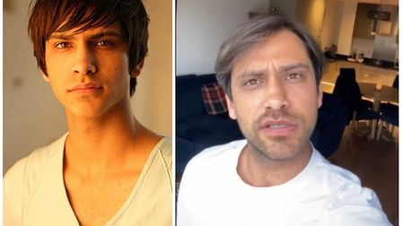 TV star Luke Pasqualino praises NHS staff across the district in special video message. Picture: ARC