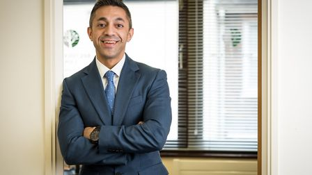 Osman Dervish, commercial property lawyer at Bretherton Law in St Albans. Picture: Bretherton Law