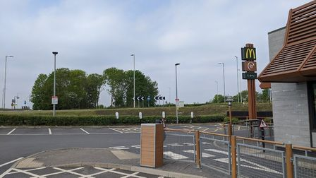 Rook nests were damaged after trees were felled on the A505 roundabout in Royston. Picture: Ray Mund