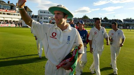 Q12. How many Test hundreds did Michael Vaughan score? Picture: GARETH COPLEY/PA
