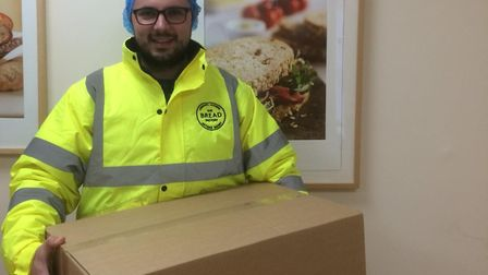 Stephen Ville of the St Albans-based Bread Roll Company.