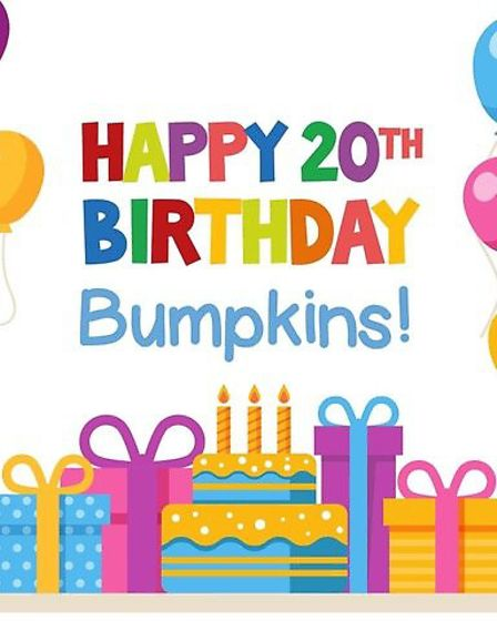Bumpkins Nursery in Whaddon had a small party with staff and children of key workers to celebrate th