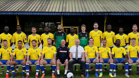 St Albans City team photo ahead of the 2019-2020 season. Picture: LEIGH PAGE