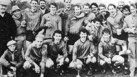 The domestic treble in one St Albans Sunday League season has been done six times, including by Nich