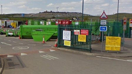 Cambrideshire County Council will open its recycling centres on May 11. Picutred is March Recycling