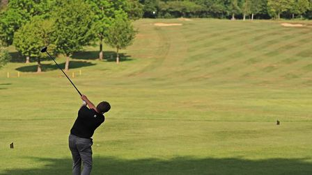 Golf courses could reopen on Wednesday after the announcement from Boris Johnson. Picture: BRIAN HAL