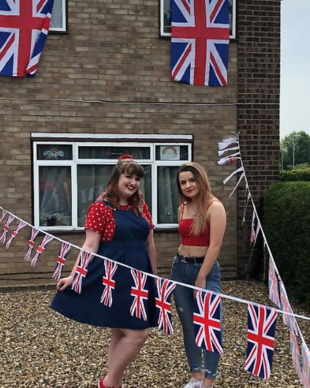 Eynesbury sisters Rachel and Chloe Patterson. Picture: SARAH BECK