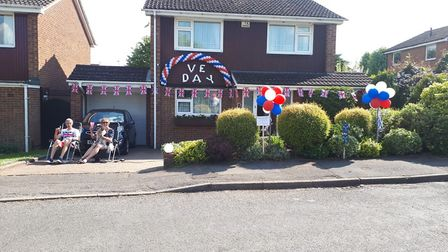 Sandra and Paul enjoying Harley Court and Villiers Crescent celebrations. Picture: Supplied