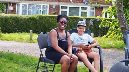 VE Day at Birchwood Way in Park Street. Picture: Leanda Kelly