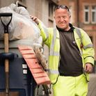Linda Charman wanted to thank her husband Andrew Thompson, for his work keeping the streets tidy in