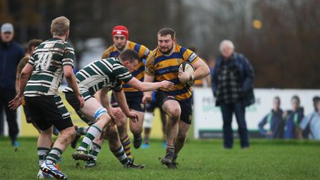 St Albans V Hendon - Liam Rogers in action for St Albans. Picture: Karyn Haddon