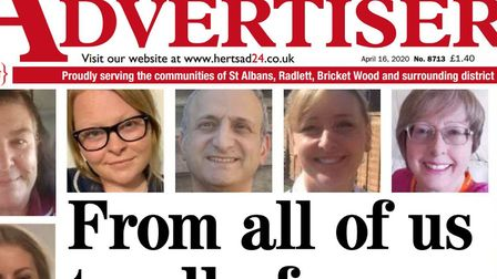 The Herts Advertiser is appealing for support to help us continue our work.