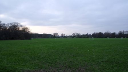 Toulmin Drive sports ground is flanked by woodland. Picture: Danny Loo