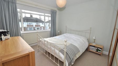 One of the property's four bedrooms. Picture: Collinson Hall
