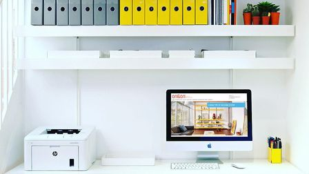 St Albans-based ON&ON offer bespoke shelving and wall-mounted desk solutions designed to make workin