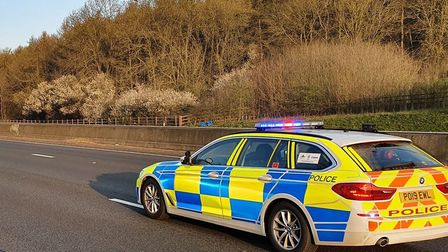 BCH Roads Policing Unit out on patrol. Officers are cracking down on motorists driving dangerously d