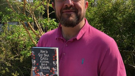 St Albans author Alex Johnson wants to encourage a lifelong love of reading.