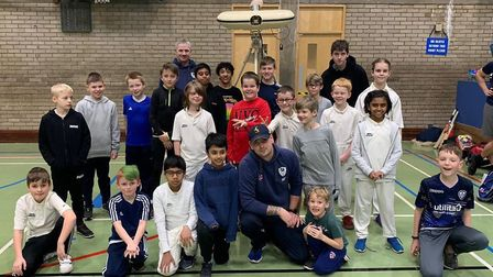 St Ives & Warboys Cricket Club has benefitted from a £1,000 donation from leading developer David Wi