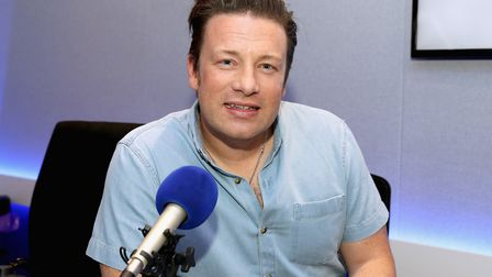 Celebrity Chef Jamie Oliver visits Magic Radio Picture: Chris Jackson/Getty Images