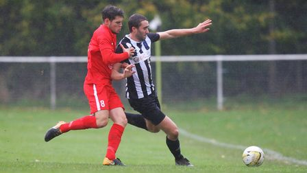Colney Heath V Stowmarket Town - Andy Sears-Black in action for Colney Heath. Picture - Karyn H