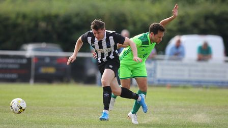Colney Heath V London Lions - Harry Lewis in action for Colney Heath. Picture: Karyn Haddon