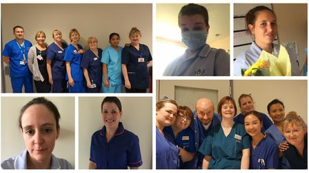 Care staff and NHS workers who are on the frontline.