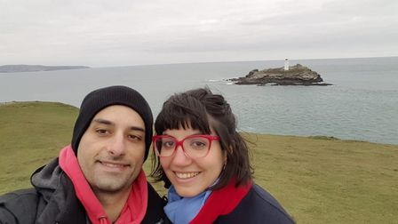 Zach Marzouk from St Albans, has been living with his girlfriend Belu in Argentina, however recently